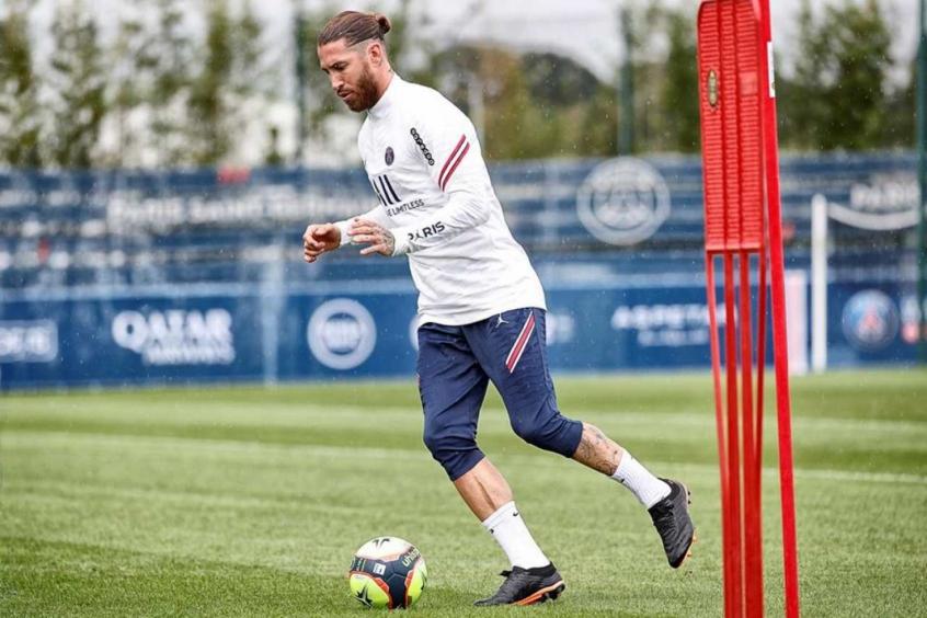 Sergio Ramos inicia último processo de recuperação de lesão e fica perto de fazer estreia pelo PSG