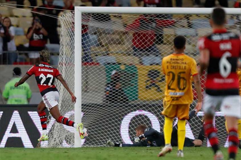 Bruno Henrique comemora vitória do Flamengo e projeta jogo da volta: 'Fazer o nosso melhor'