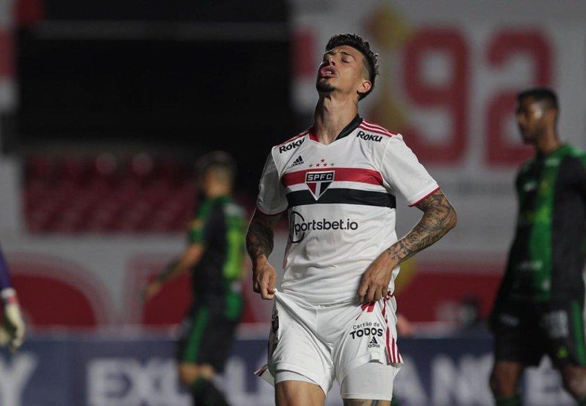 Em crise no ataque, artilheiros do São Paulo no Campeonato Brasileiro tem somente três gols marcados
