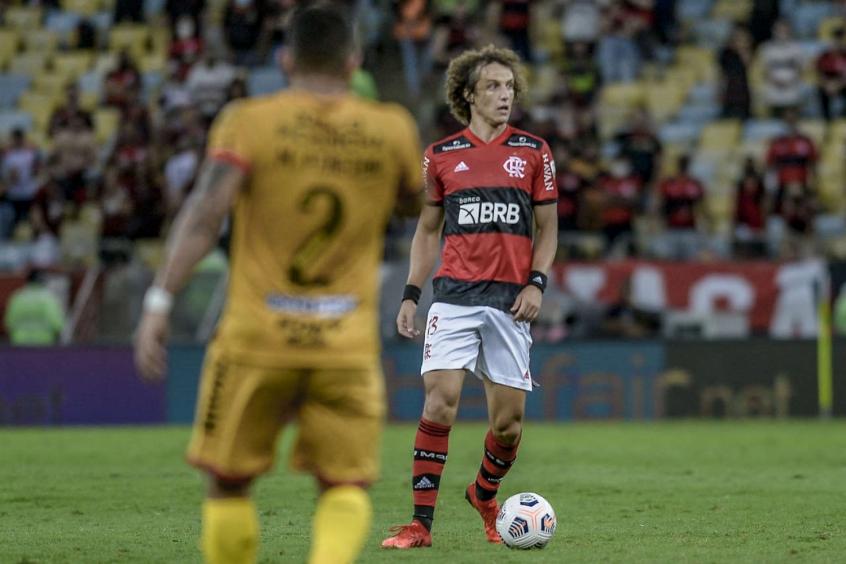 David Luiz comemora estreia pelo Flamengo: 'É um dos dias mais especiais da minha vida'