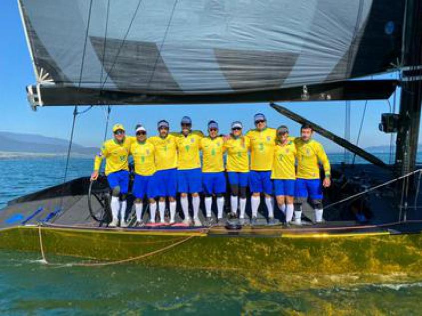 Seleção de vela intensifica treinos para evento-teste da SSL na Suíça