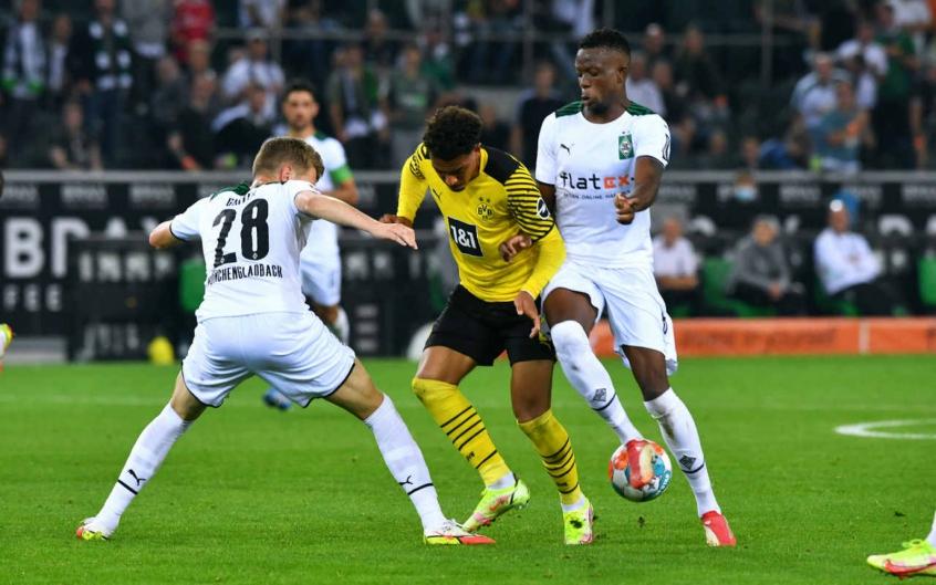 Sem Haaland, Borussia Dortmund perde para o Borussia Mönchengladbach na Bundesliga