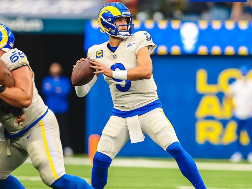 Rams seguem invictos após vitória sobre Tom Brady e os Bucs com show de Matthew Stafford