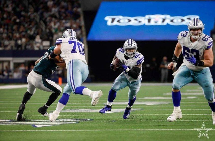 Ataque funciona e Dallas Cowboys atropela o Philadelphia Eagles