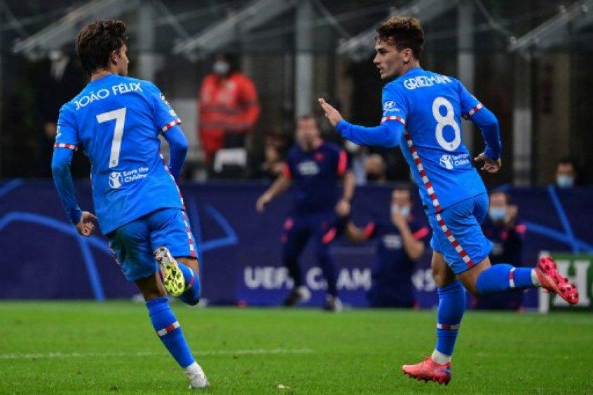 Com um jogador a mais, Atlético de Madrid pressiona e vence Milan de virada pela Champions