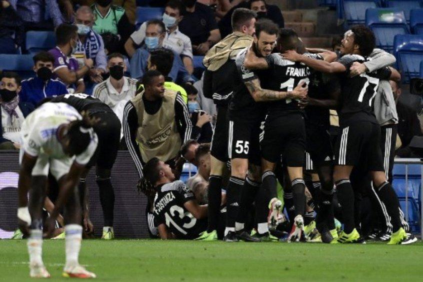 Sheriff marca aos 44 do segundo tempo e vence o Real Madrid no Santiago Bernabeu