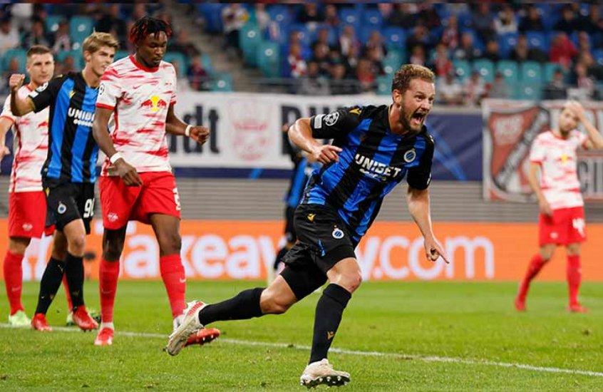 RB Leipzig sai na frente, mas leva virada e perde a segunda partida seguida na Liga dos Campeões