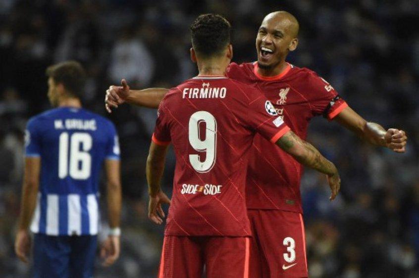 Firmino celebra goleada do Liverpool contra o Porto: 'Vitória muito importante'