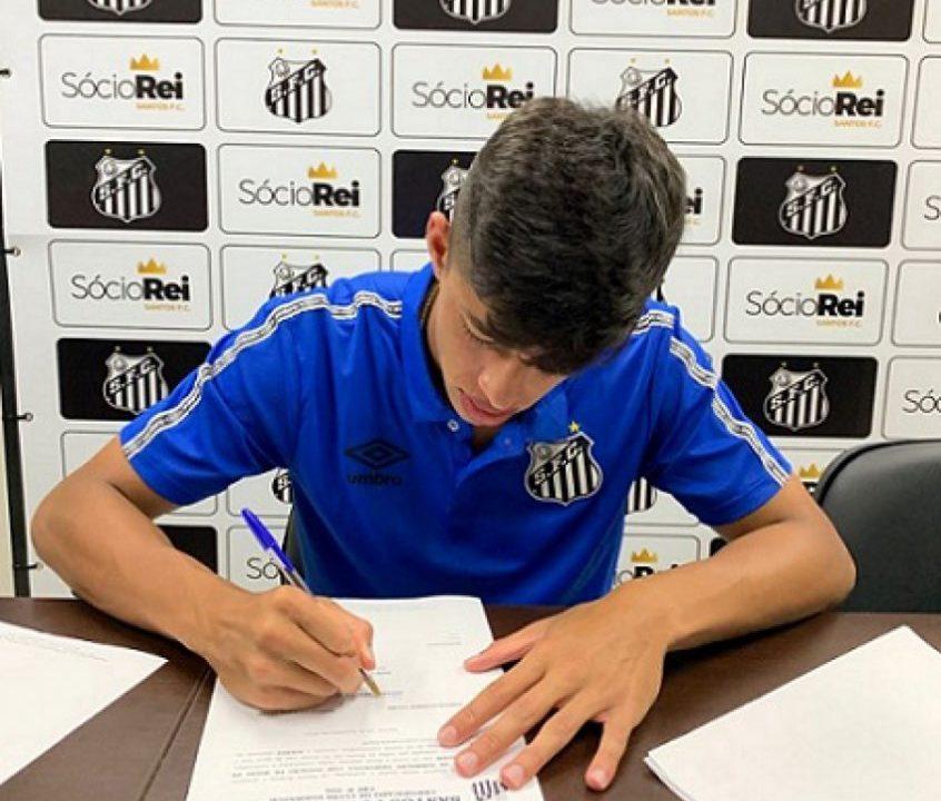 Santos contrata atacante ex-Red Bull Bragantino para a equipe Sub-17