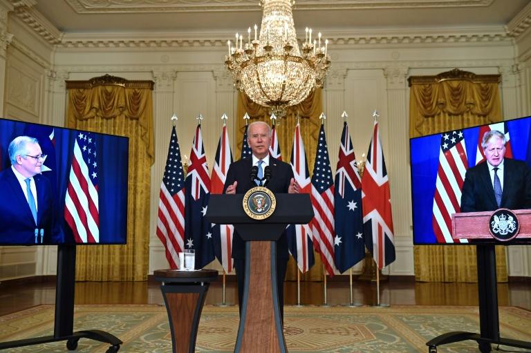Acordo dos EUA com Austrália mostra que China é a prioridade de Biden