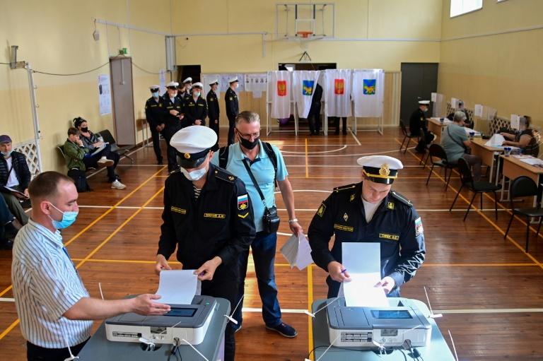 App de voto da oposição 'censurado' no primeiro dia das eleições na Rússia