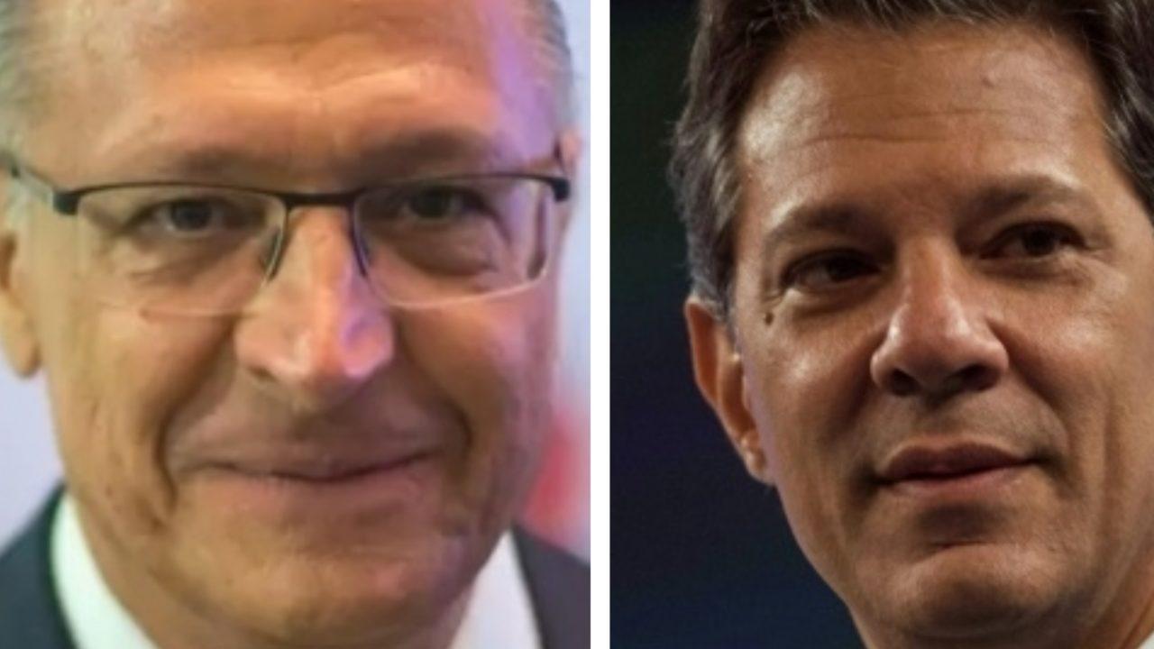 Alckmin e Haddad lideram disputa para governo de SP, segundo Datafolha