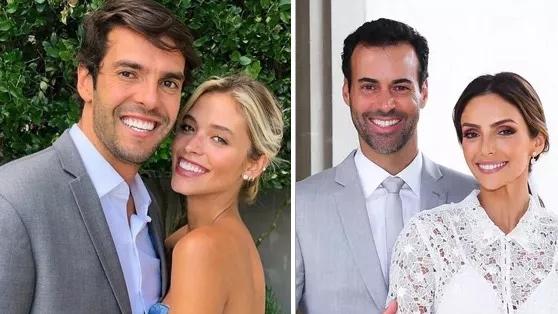 'Esse holofote não é nosso', diz Carol Dias sobre não parabenizar ex de Kaká por casamento
