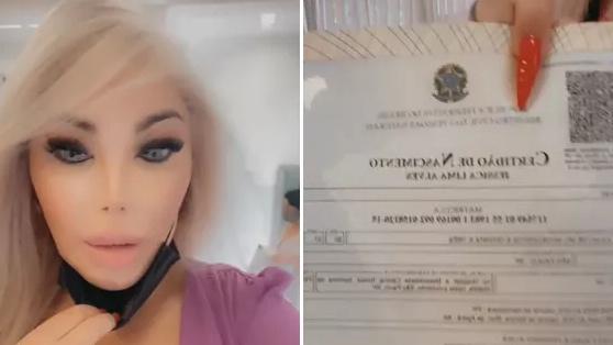 Jessica Alves tira nova certidão de nascimento em São Paulo - ISTOÉ  Independente