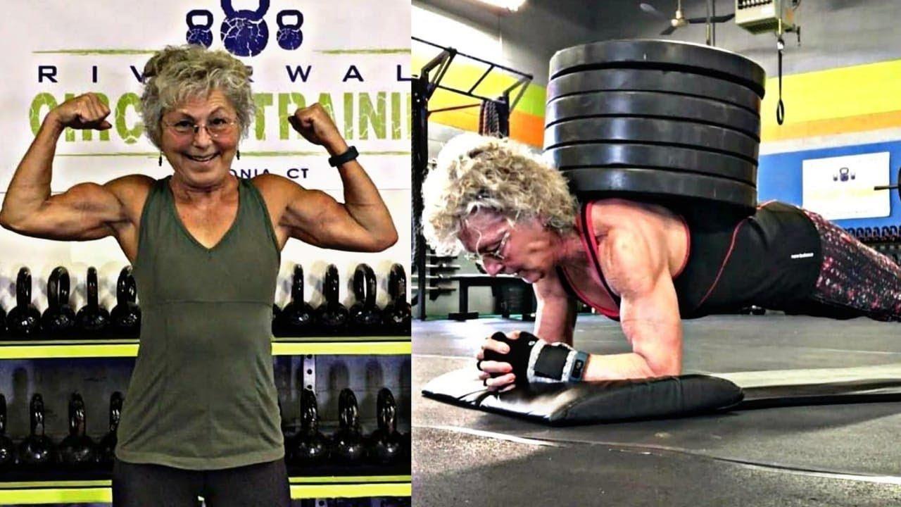 Americana de 71 anos quebra recordes e vira campeã de levantamento de peso