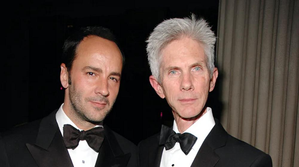 Morre Richard Buckley, jornalista casado com o estilista Tom Ford há 35 anos