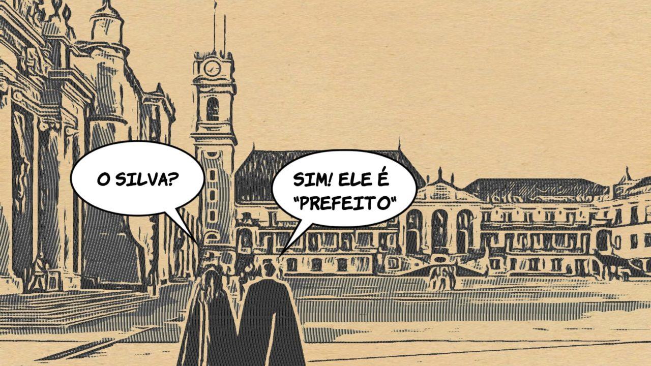 """O homem """"prefeito"""" para Coimbra"""