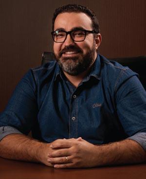Dênis Luiz Lunelli, presidente da Lunelli
