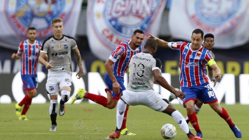 Em reedição da final da Copa do Nordeste 2021, Bahia e Ceará se enfrentam pelo Braileirão