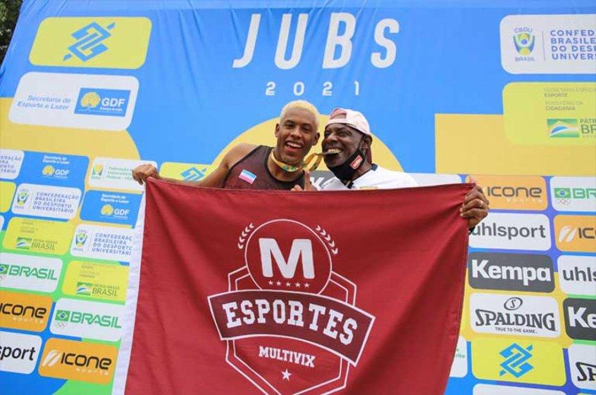 De olho em Paris-2024, Paulo André conquista o bicampeonato no JUBs
