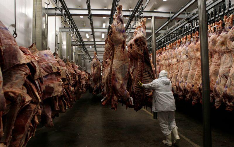 Marfrig inicia exportação de carne bovina aos EUA por 2 novas plantas do Brasil