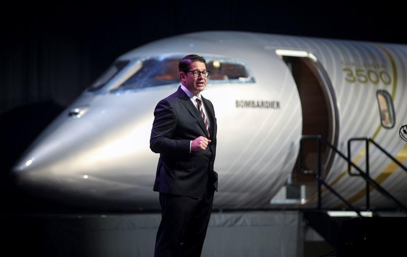 Bombardier lança Challenger 3500 de luxo em disputa de jatos privados de tamanho médio