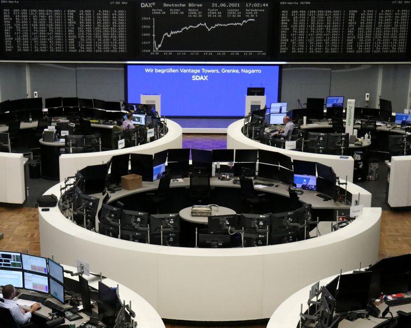 Ações europeias recuam com temores sobre aperto monetário