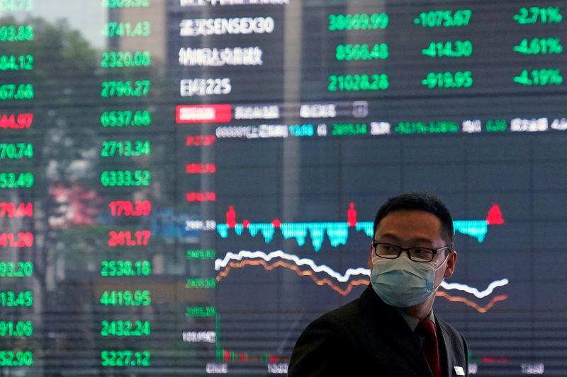 Ações da China têm ganho semanal com impulso do setor financeiro