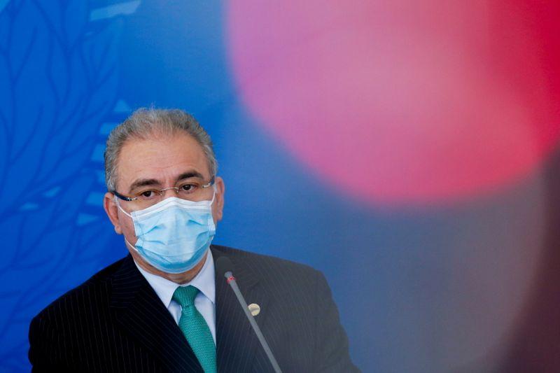 No Senado, Queiroga anuncia chegada de 1,5 milhão de doses da vacina Janssen