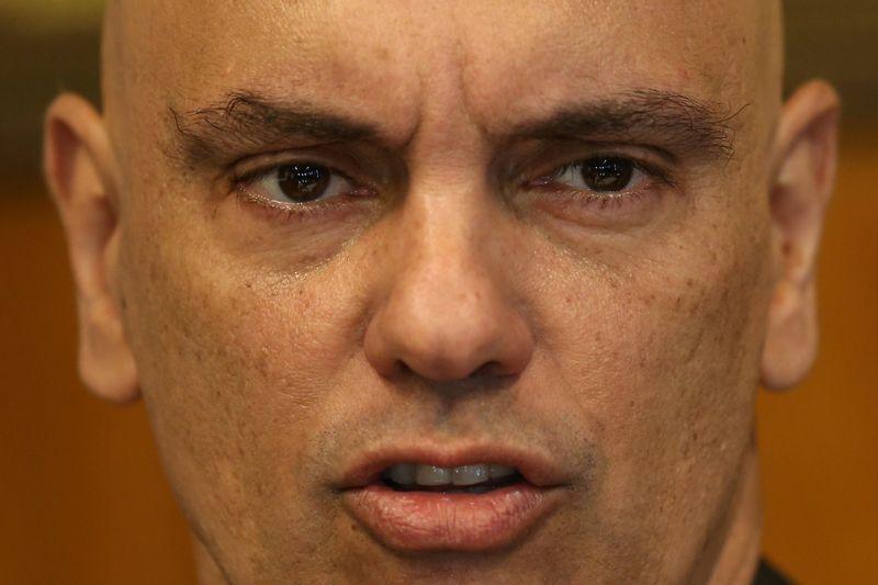Insulto a Moraes em clube vira inquérito sigiloso