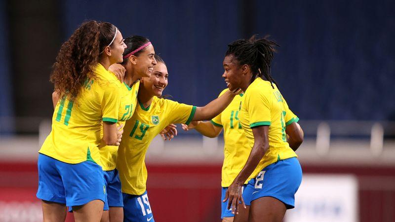 Brasil bate Zâmbia por 1 x 0 e enfrentará Canadá nas quartas do futebol feminino em Tóquio