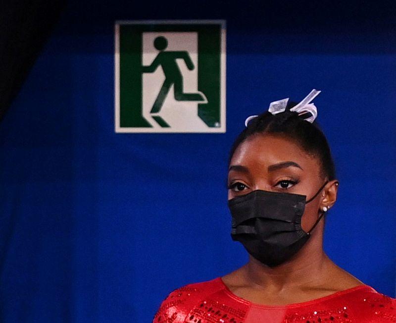 Simone Biles diz não ter certeza se continuará nos Jogos de Tóquio