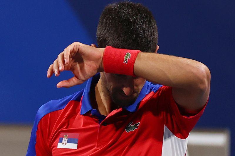 Djokovic lamenta perda de medalhas em Tóquio: 'Não me arrependo de vir aos Jogos'