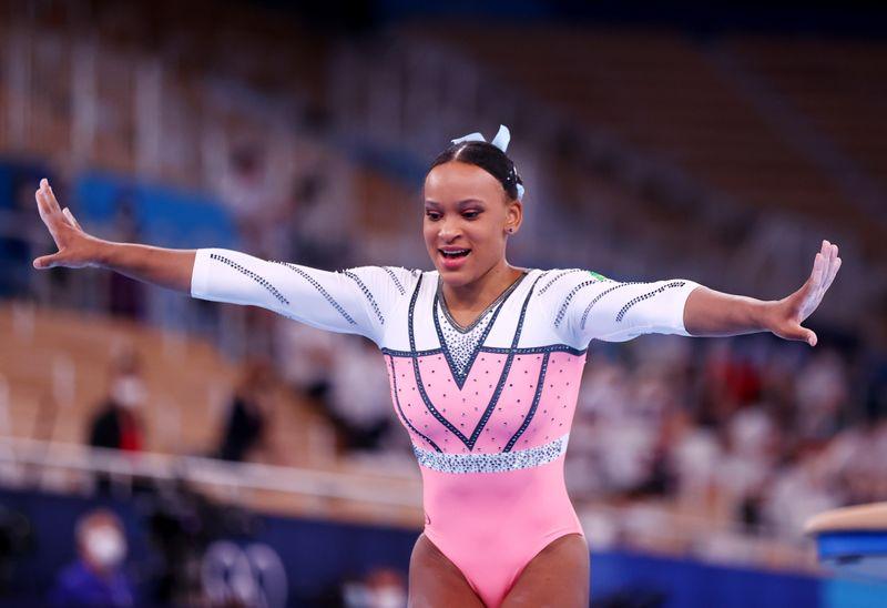 Rebeca revela táticas para vitória: esconder saltos e conversar sozinha