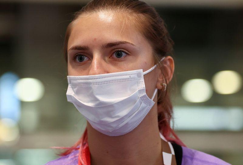Atleta de Belarus aceita asilo polonês e deixa Japão