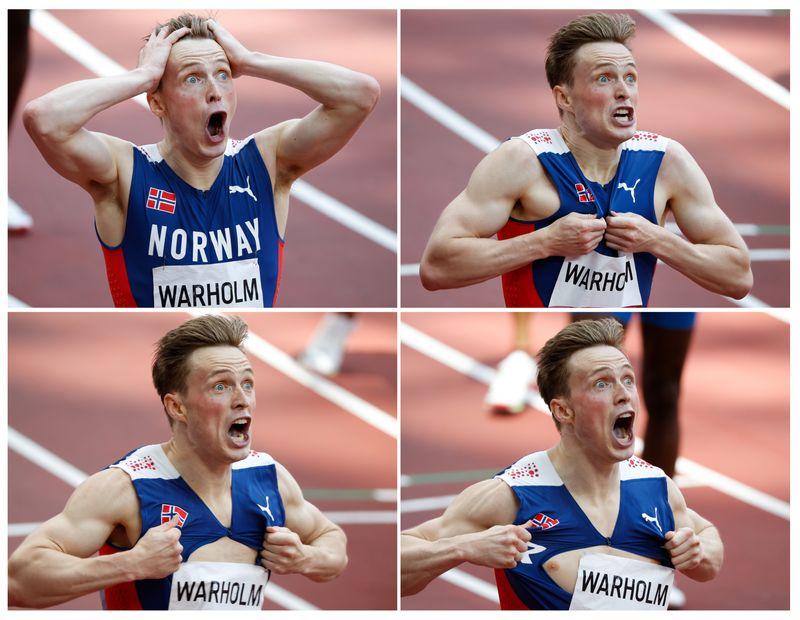 Atletismo olímpico tem dia incrível com quebra de recordes