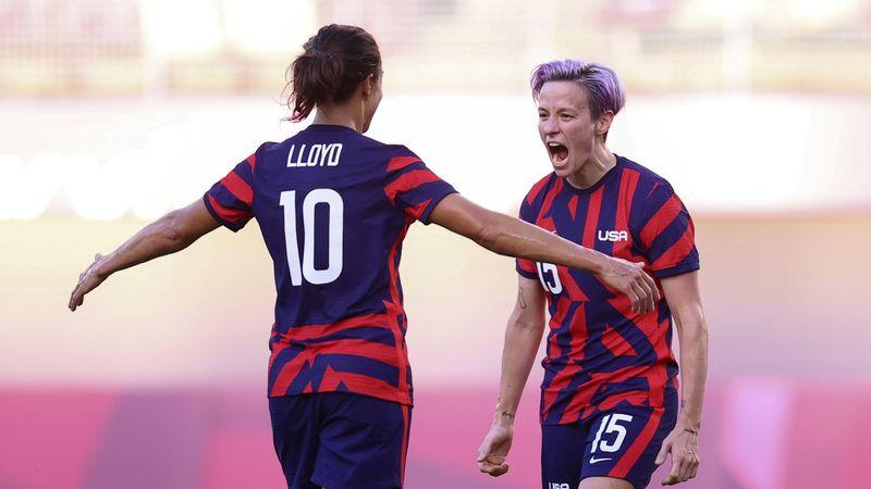 Futebol feminino dos EUA bate Austrália com gols de Rapinoe e Lloyd e fica com bronze em Tóquio