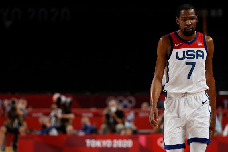 Kevin Durant comanda vitória dos EUA sobre Austrália na semifinal olímpica