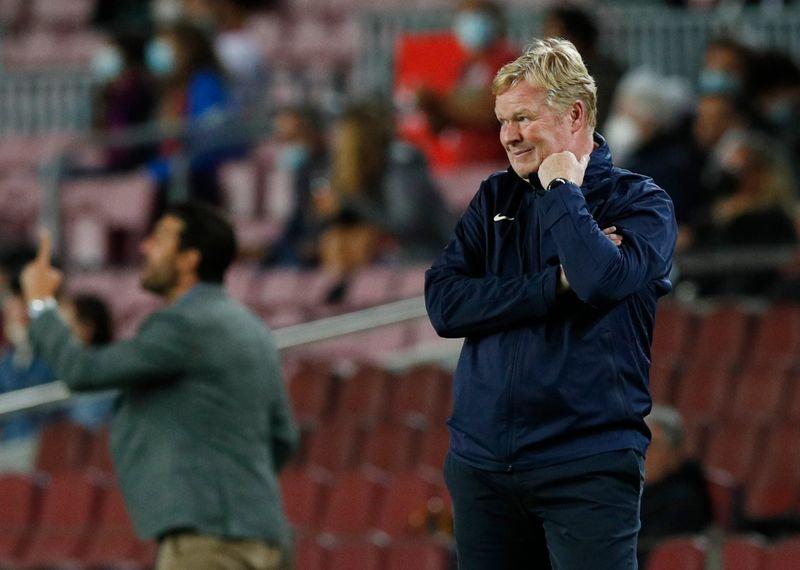 Barcelona não tinha jogadores para tiki-taka, diz Koeman após empate com Granada