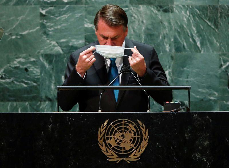 Na ONU, Bolsonaro diz que Brasil tem tudo o que investidor procura