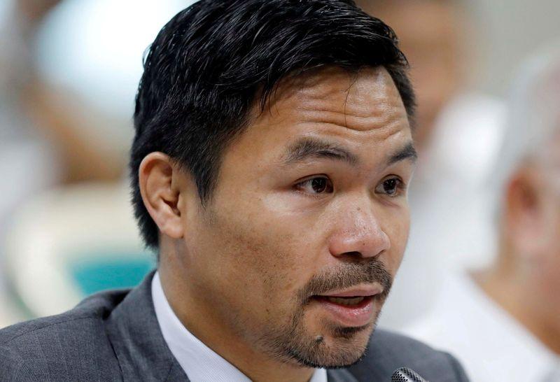 Candidatura presidencial pode ser luta mais dura de boxeador filipino Pacquiao