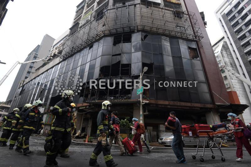 Incêndio no sul de Taiwan deixa 46 mortos