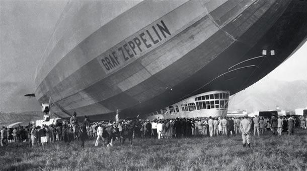 Resultado de imagem para zeppelin dirigivel