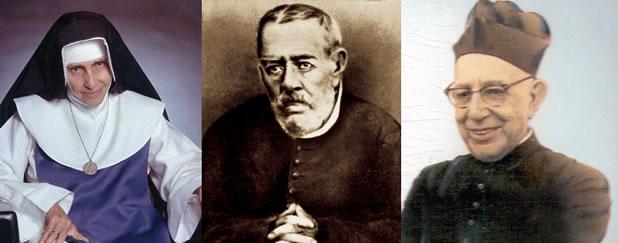 Resultado de imagem para servos de deus brasileiros processo de canonização
