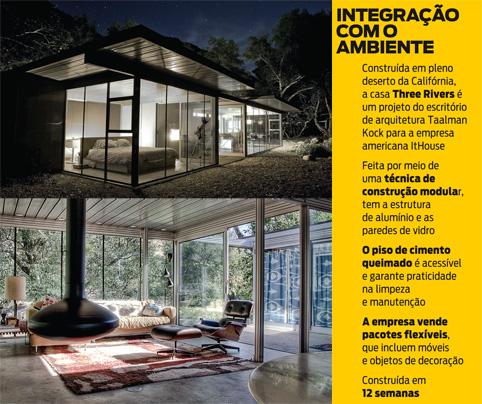 Casas Pré Fabricadas Mas Sofisticadas Istoé Independente