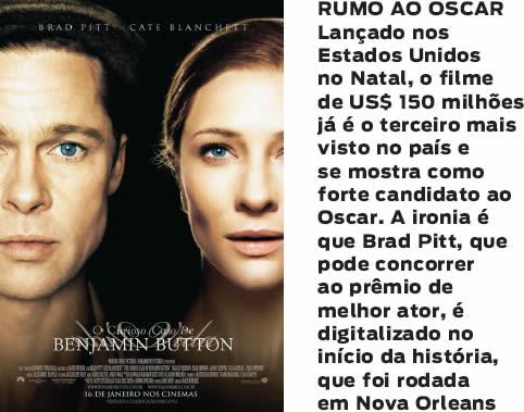 Brad Pitt Viaja No Tempo Istoé Independente