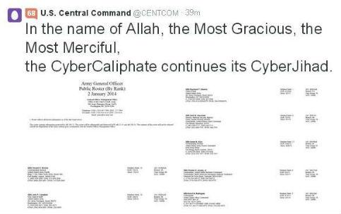 Hackers invadem twitter de comando militar americano e publicam hacker us cc 1g fandeluxe Gallery